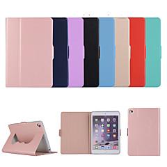 ieftine -carcasa pentru apple ipad 10.2 '' (2019) / ipad pro 9.7 cu suport flip full body case solid colorat pu piele tpu husa protectie husa textil
