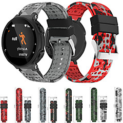 Недорогие -Камуфляжный силиконовый ремешок для часов Garmin Forerunner 220/230/235/620/630/735 xt сменный браслет ремешок на запястье браслет
