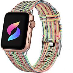 Недорогие -Холщовый нейлоновый ремешок для часов для apple watch series 5/4/3/2/1 38 мм 40 мм 42 мм 44 мм сменный браслет ремешок на запястье браслет