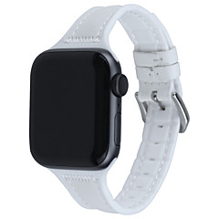 hesapli -watch band for apple watch series 5 4 3 2 1 apple deri döngü kapitone pu deri bilek kayışı