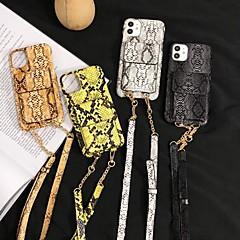 ieftine -carcasa pentru apple iphone 7 7p iphone 8 8p iphone x iphone xs xr xs max iphone 11 11 pro 11 pro max card suport model de acoperire linii valuri din piele pu