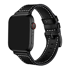 Недорогие -ремешок для часов для apple watch series 5 4 3 2 1 apple кожаный ремешок ремешок из натуральной кожи