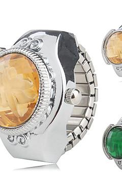 olcso -Női Gyűrűóra Japán Kvarc Ezüst Alkalmi óra hölgyek Virág - Sárga Zöld Egy év Akkumulátor élettartama / SSUO SR626SW