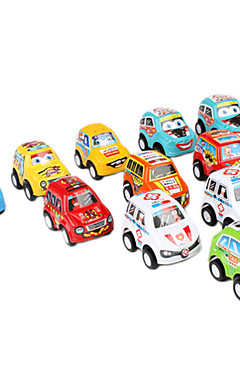 رخيصةأون -السيارات الصغيرة التراجع والذهاب للعب الاطفال (11 حزمة)