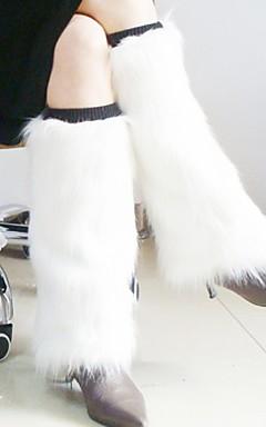 povoljno -ženske bijele ili ružičaste umjetnog krzna nogu grijače Božić pribor