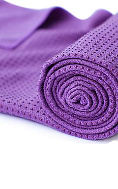 povoljno -Ručnik za jogu Odor Free Eco-friendly Protiv klizanja mikrovlakana za Yoga Pilates Bikram 183*63*0.5 cm purpurna boja žuta Zelen