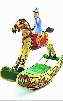 رخيصةأون -لعبة الريح / لعب تمثيلي حداثة حصان معدن 1 pcs قطع هدية