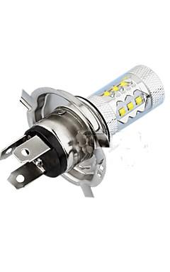 رخيصةأون -H4 سيارة لمبات الضوء 80W SMD LED 1200lm LED مصباح الرأس