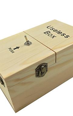رخيصةأون -LT.Squishies عديمة الفائدة مربع / ألعاب المكتب / مخفف الضغط التوتر والقلق الإغاثة / الخشب الصلب / يتحول نفسه قبالة خشبي 1 pcs قطع للبالغين هدية