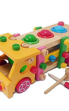 رخيصةأون -ألعاب تربوية حداثة شاحنة خشب 1 pcs قطع للصبيان للفتيات ألعاب هدية