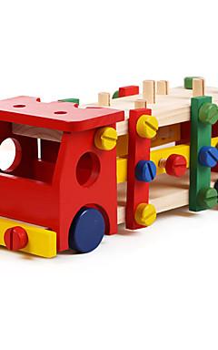 رخيصةأون -ألعاب تربوية ألعاب عصرية ألعاب حداثة شاحنة خشب قوس قزح للأولاد / للبنات