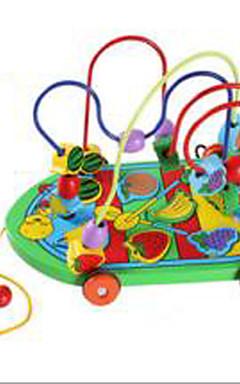 رخيصةأون -مخفف الضغط ألعاب تربوية حداثة سيارة خشب 1 pcs قطع للصبيان للفتيات ألعاب هدية