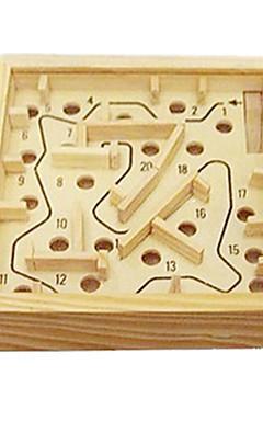 رخيصةأون -متاهة خشبية أحجار البناء كرات حداثة خشبي 1 pcs قطع للصبيان للفتيات ألعاب هدية