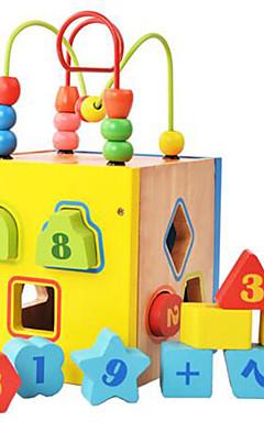 رخيصةأون -مخفف الضغط / ألعاب تربوية هوايات ألعاب حداثة مربع خشب قوس قزح للأولاد / للبنات