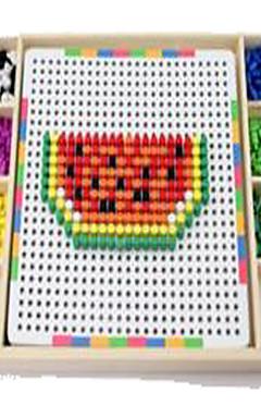 رخيصةأون -LT.Squishies ألعاب الفسيفساء مخفف الضغط ألعاب تربوية حداثة خشبي 1 pcs قطع للصبيان للفتيات ألعاب هدية