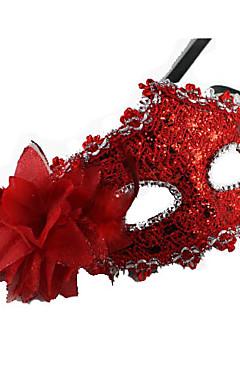 povoljno -Mask Maska za maskiranje Karnevalska maska Inspirirana Karneval venecijanski Braon Zlatan Halloween Karneval New Year Odrasli Žene Ženska