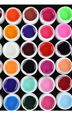 hesapli -Polonya UV Jel Tırnak 8 ml 36 pcs UV Renkli Jel / UV Oluşturucu Jel / Klasik Uzun Ömürlü kapalı emmek Günlük UV Renkli Jel / UV Oluşturucu Jel / Klasik Hızlı Kurulama