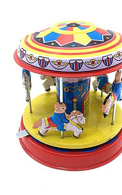 رخيصةأون -لعبة الريح جذاب حصان دائري مرح الذهاب جولة المعدنية الحديد 1 pcs قطع للأطفال للصبيان للفتيات ألعاب هدية
