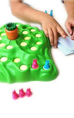 cheap -Board Game Chess Game Aeroplane Chess Plastic Rabbit Kid's Adults' Toys Gifts