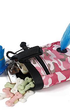 رخيصةأون -قط كلب الطاسات وزجاجات قماش المحمول قابلة للطى مضاعف ألوان متناوبة أخضر زهري السلطانيات والتغذية
