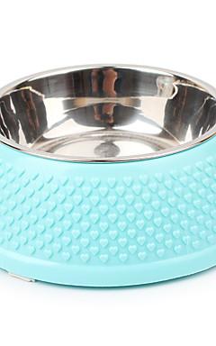 povoljno -Mačka Pas Zdjele i boce s vodom Legura Jednobojni Bijela Plava Pink Zdjele & Hranjenje