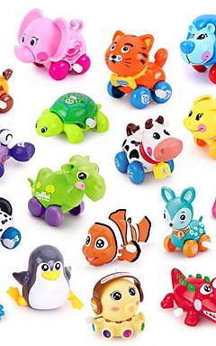 رخيصةأون -لعبة سيارات لعبة الريح ألعاب تربوية الحيوانات البلاستيك قطع للأطفال للجنسين ألعاب هدية