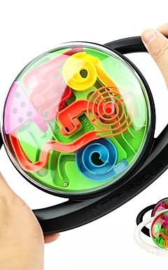 ieftine -Caseta de puzzle cu labirint 3D Labirint mingea Puzzle Ball Jenga Temă Clasică Locuri Zi de Naștere Comenzi Volan Profesional Pentru copii Adulți Jucarii Cadouri