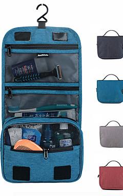 hesapli -Seyahat Acentası / Kozmetik Çantası / Seyahat Tuvalet Çantası Büyük Kapasite / Su Geçirmez / Seyahat Depolama Bagaj PVC / PU Seyahat / Dayanıklı