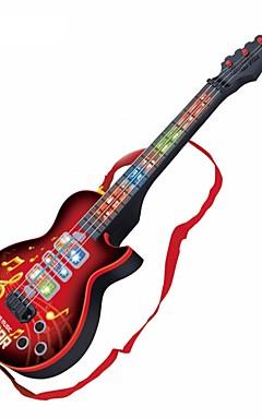 voordelige -Elektrische Gitaar Gitaar Lichten Muziek Jongens Meisjes Kinderen Speeltjes Geschenk 1 pcs