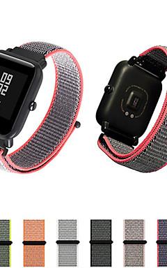 hesapli -Watch Band için Huami Amazfit Bip Younth Watch Xiaomi Modern Toka Naylon Bilek Askısı