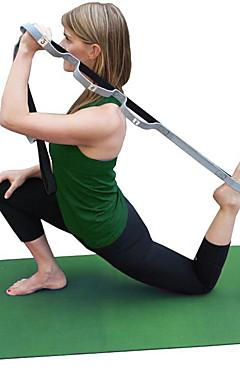 povoljno -Yoga remen Pamuk Stretch Izdržljivost Podesiva D-prstenasta kopča Fizikalna terapija istezanje Poboljšajte fleksibilnost Yoga Pilates Sposobnost Za