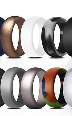 povoljno -Prstenje Silikonski prstenovi Silikon Nježno Sposobnost Trening u teretani Za Muškarci