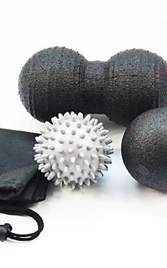 """povoljno -Set loptica za vježbanje 3 """"(7,5 cm) 3 1/8 """"(8 cm) Prečnik EPP Olakšava bol Masaža Yoga Sposobnost Opuštanje kože Za"""