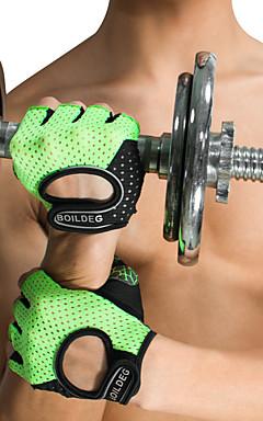 povoljno -Rukavice za vježbanje Silicon Prilagodljiv protiv klizanja Prozračnost Trening Protection Sposobnost Trening u teretani Bodybuilding Za Muškarci Žene ruke