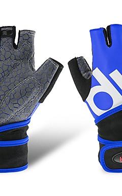 povoljno -Rukavice za vježbanje Lycra Silicon Prilagodljiv protiv klizanja Podrška za zglob Prozračnost Trening Protection Sposobnost Trening u teretani Bodybuilding Za Muškarci Žene ruke