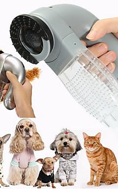 povoljno -Psi Mačke Čišćenje plastika Combs Četke Ležerno / za svaki dan Ljubimci Potrepštine za održavanje krzna Sive boje 1