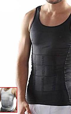 povoljno -Prsluk za trbušni trening Shaper tijela Najlon Rastezljiva Gubitak težine Sposobnost Bodybuilding Za Muškarci Struk Sport na otvorenom Dom Ured