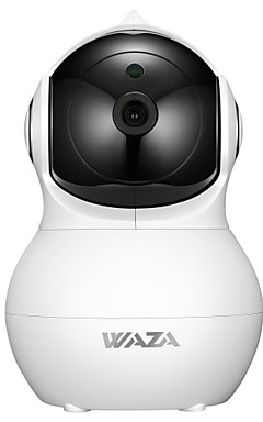povoljno -WAZA SC02 2 mp IP kamere Unutrašnji podrška 64 GB / PTZ / CMOS / Bez žice / iPhone OS / Android