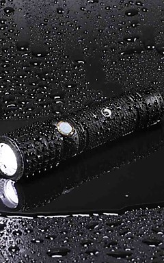 Недорогие -U'King Светодиодные фонари Перезаряжаемый 2000 lm Светодиодная лампа LED излучатели 3 Режим освещения с батареей и адаптером Масштабируемые Перезаряжаемый Фокусировка / Алюминиевый сплав