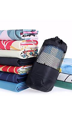 povoljno -Pokrivač za jogu Nježno Protiv klizanja Stroj za pranje Silikon 100% standardni hrana mekana silikonska najfiniji vlakana za Yoga 18363 cm Kristalne Tamno mornarice Voće Green