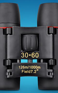 hesapli -30 X 60 mm Dürbün Su Geçirmez Yüksek Tanımlama Genel Powłoka pełna wielowarstwowa BAK4 Plastik Silgi Metal / Avlanma / Kuş gözlemciliği / Gece görüşü