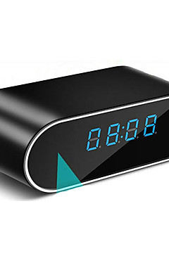 povoljno -sat skrivena kamera sa wifi rundom 1 mp 720p ip kamera unutarnja podrška 32 gb sigurnosna nadzorna kamera otkrivanje pokreta ir noćni vid telefon daljinski pristup aplikaciji
