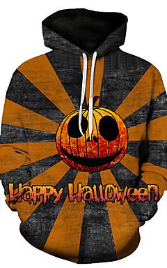 رخيصةأون -هوديي رجالي 3D / جماجم كاجوال / Halloween