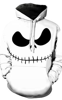 رخيصةأون -هوديي رجالي 3D كاجوال / Halloween