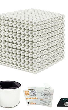 cheap -1000 pcs 3mm Magnet Toy Magnetic Balls Magnet Toy Building Blocks Super Strong Rare-Earth Magnets Neodymium Magnet Puzzle Cube Magnetic Stress and Anxiety Relief Office Desk Toys Relieves ADD, ADHD