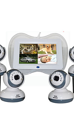 povoljno -Factory OEM® 0.3 mp Baby Monitor CMOS 360 ° ° C Raspon noćne vidljivosti 5 m 0 GHz