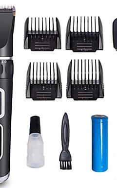 رخيصةأون -كلاب الاستمالة ABS + PC جهاز طقطاق والتشذيب المحمول قابل للغسيل السفر حيوانات أليفة أدوات الحلاقة أسود