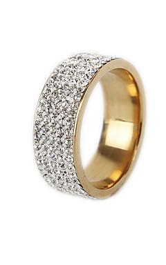 رخيصةأون -رجالي نسائي عصابة الفرقة خاتم الذيل الدائري 1PC ذهبي فضي الصلب التيتانيوم دائري عتيق أساسي موضة هدية مجوهرات