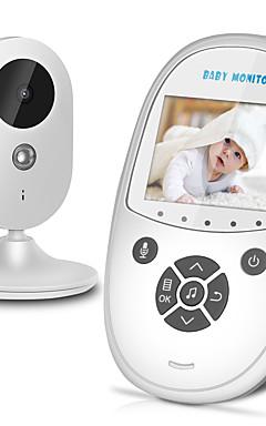 povoljno -bežični video pametni monitor za bebe automatski noćni vid beba sigurnosna kamera vox pal / ntsc dvosmjerni razgovor zr302 nadgledanje temperature kućna sigurnost beba eletronica