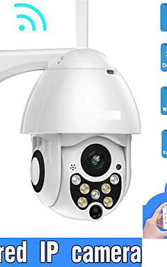 povoljno -2mp 1080p ip kamera na otvorenom ožičena i bežična sigurnosna nadzorna kamera 3.6 mm podrška za objektiv 32 gb dvosmjerna audio ip66 vodootporna onvif protokol detekcija pokreta